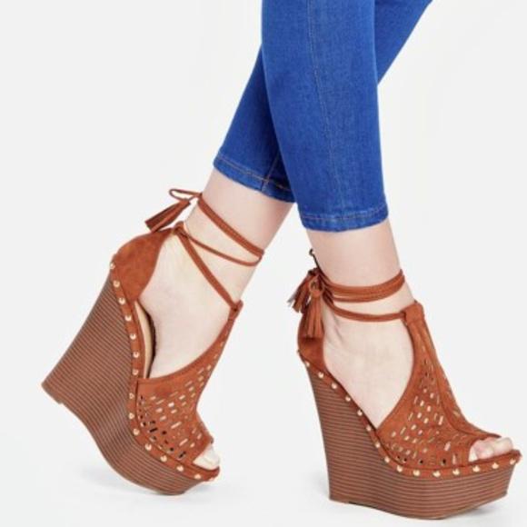 Jf Shoes Brand New Latest Fashion Platform Wedge Sandals Poshmark